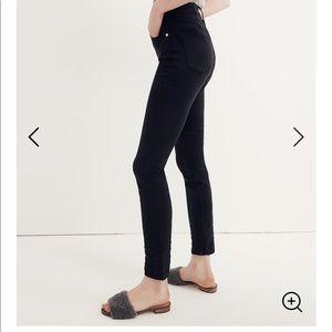 Black Madewell Jeans Tencel Wash